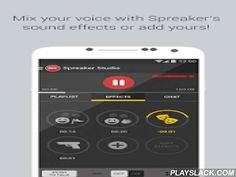 Spreaker Studio  Android App - playslack.com ,  Take over the entire production of your own podcast or radio show with Spreaker Studio.Spreaker Studio transforms your device into a fully-equipped radio studio, allowing you to broadcast live or pre-record podcasts while adding tracks and sound effects. Easily share your content on Facebook and Twitter, and be heard by millions. Start an active relationship with your listeners by interacting with them directly through a live chatbox.★ Become a…