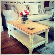 Shabby chic coffee table...available to buy on etsy @ beaucollectionsuk