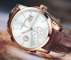 Les nouveautés horlogères 2014 de la marque d'horlogerie Ulysse Nardin - Dual Time Manufacture
