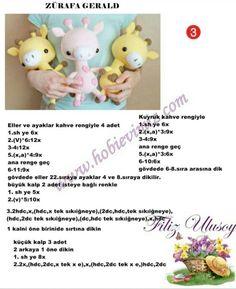 Diy Crafts - Mesmerizing Crochet an Amigurumi Rabbit Ideas. Lovely Crochet an Amigurumi Rabbit Ideas. Crochet Giraffe Pattern, Crochet Amigurumi Free Patterns, Crochet Motifs, Crochet Bear, Cat Pattern, Crochet Animals, Crochet Teddy, Knitted Dolls, Crochet Dolls