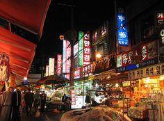 Seoul, South Korea night market