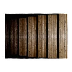 Wooden Steps Optical Illusion 5x7'area Rug on CafePress.com