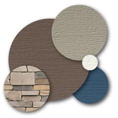 View Page - Brandy Wood Exterior Paint Schemes, Exterior Paint Colors For House, Paint Colors For Home, Exterior Colors, Exterior Design, Mastic Vinyl Siding, Vinyl Siding Colors, Color Combinations Home, House Color Schemes