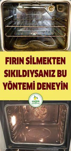 Fırın temizliği yıllardır başımızın belası olmuştur ve mutfak araç gereçleri arasında en zor temizlenen aletlerden birisidir fırın. Marketlerde satılan fırın temizleyici maddelerin birçoğu kostik ve amonyak gibi toksik ürünler içerir ve sağlığınız için ciddi derecede zararlıdır. #temizlik #kadın #fırın #kolay temizlik #basit #hemen #titiz #sağlık House Cleaning Tips, Cleaning Hacks, Turkish Kitchen, Natural Cleaners, Toilet Cleaning, Simple Life Hacks, Home Hacks, Interior Design Living Room, Clean House