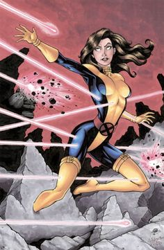 Kitty Pryde - Eric Wolfe Hanson Comic Art  Auction your comics on http://www.comicbazaar.co.uk