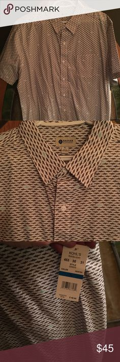 Button up men's shirt Brand new Haggar Shirts Casual Button Down Shirts