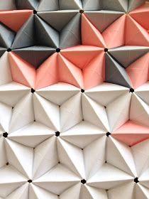 Cadre origami 3D