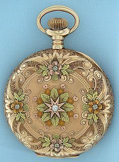 Bogoff Antique Swiss Pocket Watch , c 1910
