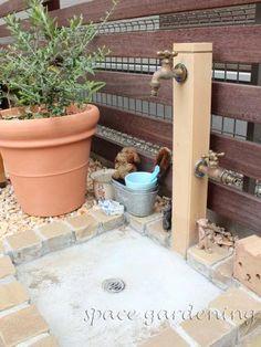 立水栓 Onlyone 陶器の立水栓