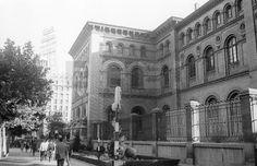 ESPAÑA CIUDADES : ZARAGOZA, 30/05/1967.- Fachada del edificio de la Facultad de Medicina y Ciencias de Zaragoza.EFE/Fiel/caalafototeca.com Image : efespseven587247