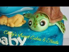 Tutorial Fondant Sea Turttle - YouTube