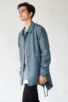 The Narrows Hybrid Fishtail Jacket - Urban Outfitters