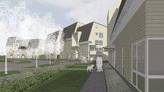 Plans for Papinpelto area, Rauma, Finland.http://yle.fi/uutiset/rauman_uusi_puukaupunki_alkuun_tana_vuonna/6486576