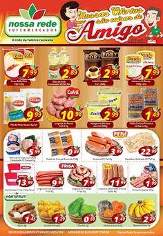 Encartes de Supermercados: Encarte Nossa Rede - válido até 25/07