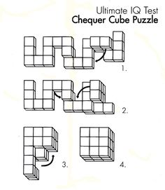 snake cube brain teaser puzzle solution Finally, I can put