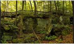 Beartown State Park is located on the eastern summit of Droop Mountain, near Hillsboro, WV.