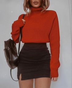 Winter Fashion Outfits, Mode Outfits, Retro Outfits, Cute Casual Outfits, Look Fashion, Stylish Outfits, Fall Outfits, Girly Outfits, Fashion Clothes