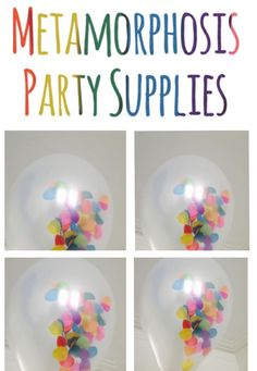 Image of Magic sprinkles balloons
