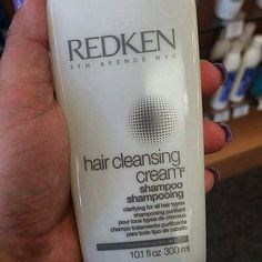 Summer activities like swimming, or going to the beach can sometimes create a build up on the hair that regular shampoo does not get rid of. Redken Cleansing Cream works great to get the hair back its it's normal feel and can be used on the whole family! Not only is it good for getting chlorine and salt water out, but also hard water particals and product build up such as gel, mousse or hair spray.  #heavenlyhair #productspotlight #redken #clarify #hairproduct #healthyhair #happyhair… Shampoo For Hard Water, Salt And Water, Summer Activities, Healthy Hair, Mousse, Rid, Swimming, How To Get, Cream