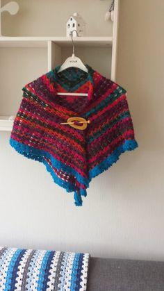 Patroon omslagdoek / Pattern shawl