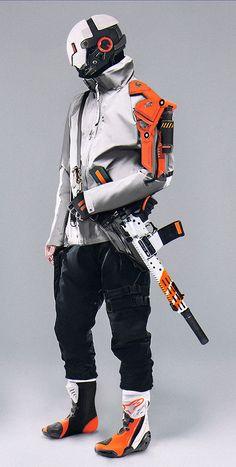 Justin - Abrar Khan on ArtStation Cyberpunk Mode, Cyberpunk Kunst, Cyberpunk Clothes, Cyberpunk Fashion, Steampunk Fashion, Gothic Fashion, Cyberpunk Tattoo, Arte Ninja, Arte Robot
