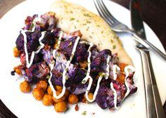Spicy Garlic Roasted Cauliflower and Chickpeas (plus Meal Prep Ideas!)