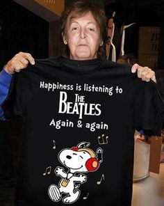 HAPPINESS IS LISTENING TO THE BEATLES !!