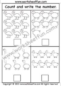 Counting - 4 Worksheets