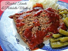 Meatloaf with mashed potatoes and Italian Green Beans is my ultimate comfort meal. But for some reason I rarely make it! In fact, I only have one other recipe for meatloaf on my blog. What is up…