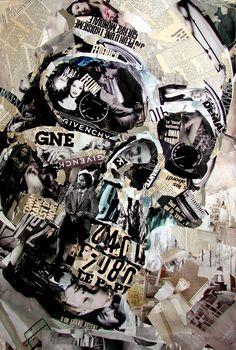 Relaterad bild Collage Portrait, Collage Art, Collages, Derek Gores, Art Curriculum, Curriculum Planning, Givenchy, Newspaper Collage, Body Anatomy