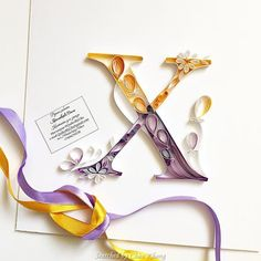 © Olia - Quilled ABCs 1 (Searched by Châu Khang)