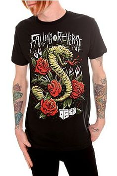 Falling In Reverse Snake Eyes Slim-Fit T-Shirt @ Hot Topic, $24.50
