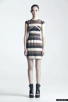 SS'12 Fashion Collection 'The Black Stripe' // CC KUO | Afflante.com