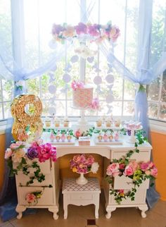 BLOOMS AND BUTTERFLIES THEMED PARTY