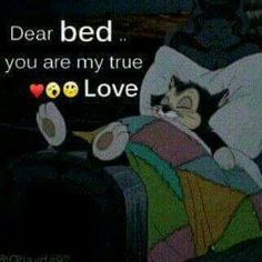 I love my bed..