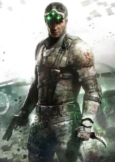 Promotional image from the new Splinter Cell title Blackout