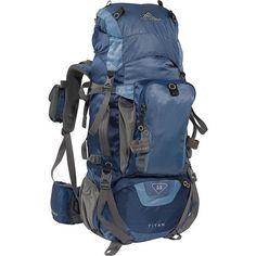 High Sierra Titan 55 Backpacking Pack, Blue