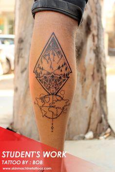 f27409b09ae Beautiful customised Sun Moon mandala back piece tattoo by Naina Jain  @nains_tattoos Than…   Tattoo Art by SKIN MACHINE TATTOO STUDIO. Bhopal .