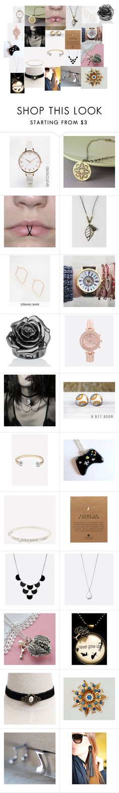 """Jewelry"" by rumagurl ❤ liked on Polyvore featuring ASOS Curve, Gama, ASOS, Palm Beach Jewelry, Avenue, REGALROSE, Dogeared, Martha Jackson and Disney"