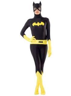 Delightful Adult Second Skin Batgirl Costume   Batman Original Halloween Costumes,  Halloween Fancy Dress, Spirit