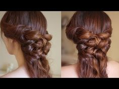 Romantic Half Up and Half Down Hair Tutorial This is easy enough I think I'll do it this week! Curled Hairstyles, Pretty Hairstyles, Straight Hairstyles, Wedding Hairstyles, Half Up Half Down Hair Tutorial, Half Updo, Natural Hair Styles, Long Hair Styles, Everyday Hairstyles