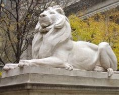The New York Public Library - love the lions