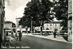 #Mede, un tuffo indietro negli anni del bianco e nero. #Lomellina #storia #turismo #vintage