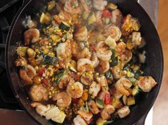 Shrimp Stir-Fry from Pioneer Woman  I made this tonight and it was absolutely delicious!!!
