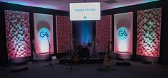 Blocked and Shadowed   Church Stage Design Ideas
