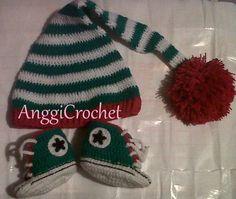 Duendecito Mini Converse a crochet