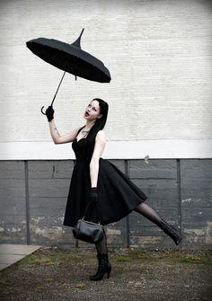 Goth Mary Poppins
