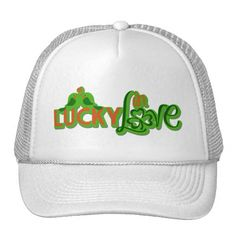 "St. Patrick's Day - ""Lucky in Love"" Trucker Hat"