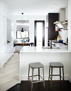 30 Fresh & Functional Eat-In Kitchens | House & Home