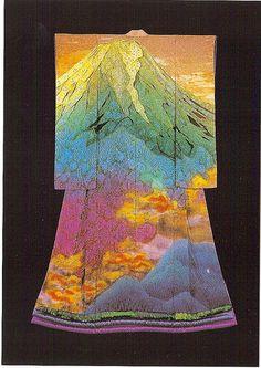 kimono by itchiku kubota, Japan